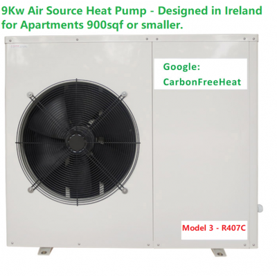 Retro Fit 9kw Air Source Heat Pump - Apartments
