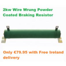 2KW Braking Resistors 24ohm