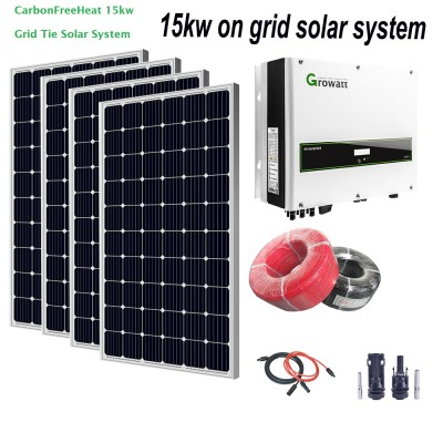 15kw Solar Panel System - Off Grid System