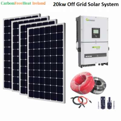 20kw Solar Panel System - Off Grid System