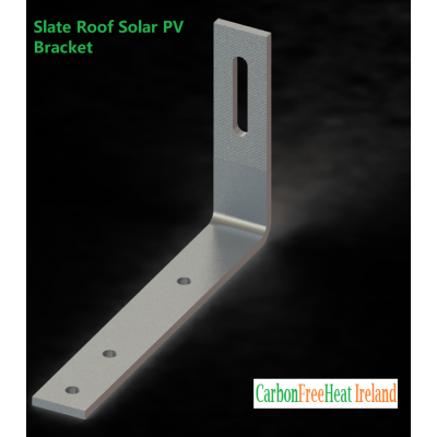Solar PV Panel Slate Roof Mounting Bracket - Stainless Steel