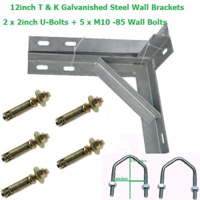 12 inch T+K Brackets Galvanized