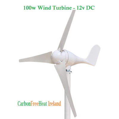100w Wind Turbine - 12V DC